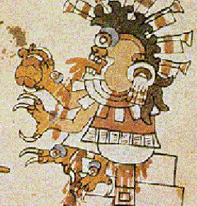 aztec god thingie