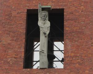 St Bernhard Hitler Gruß